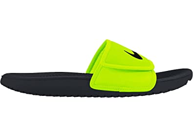 2fb967b45ece48 Image Unavailable. Image not available for. Colour  Nike Kids Kawa  Adjustable Slides(GS PS)  819344-701 (2