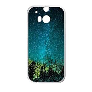 HTC One M8 Cell Phone Case , Star Sky Theme Custom Phone Case
