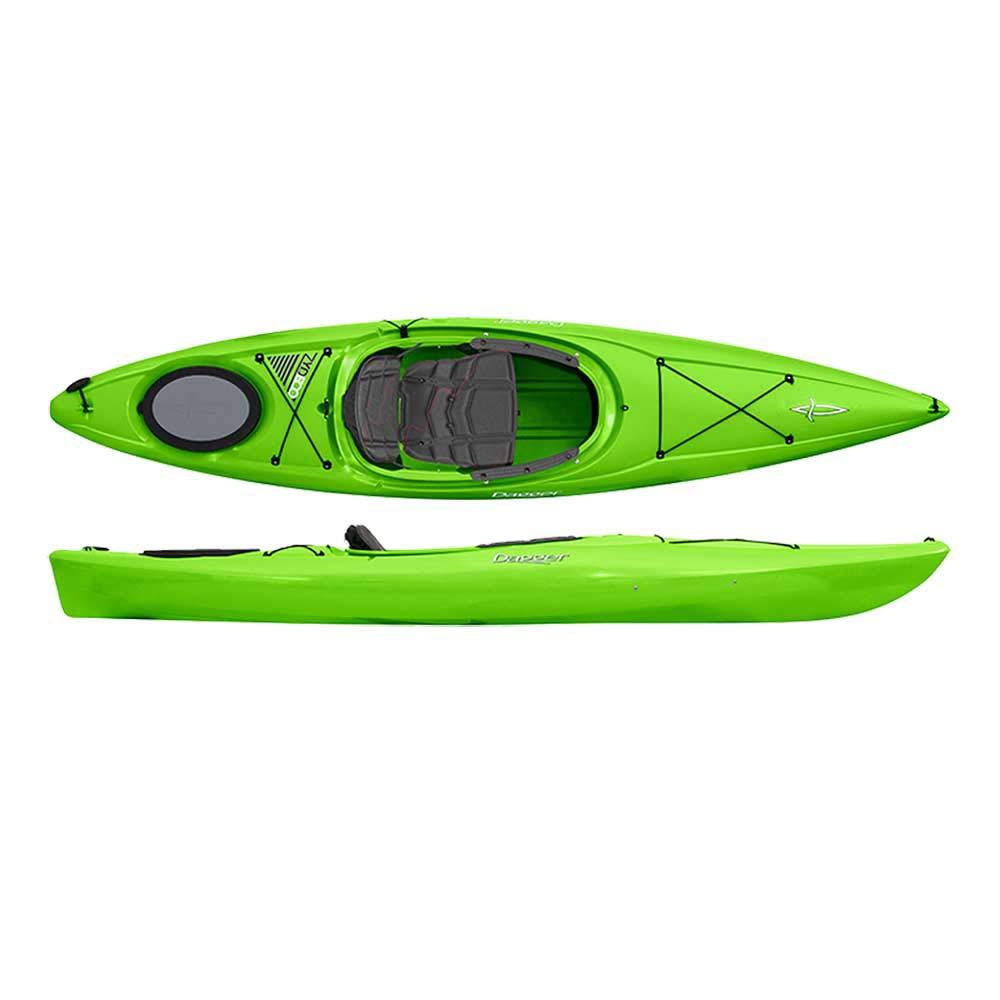Dagger Kayaks Zydeco 11.0 Kayak, Lime by Dagger