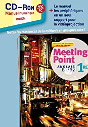 Meeting Point Anglais 1re éd. 2011 - CD-Rom classe (Manuel numérique enrichi, utilisateurs méthode)
