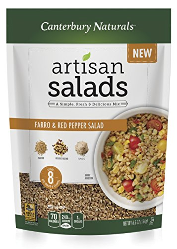 Canterbury Naturals Farro and Red Pepper Salad, 6.5 Ounce