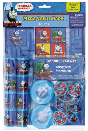 Thomas the Tank Party Favor Value Pack Party Accessory, Health Care Stuffs