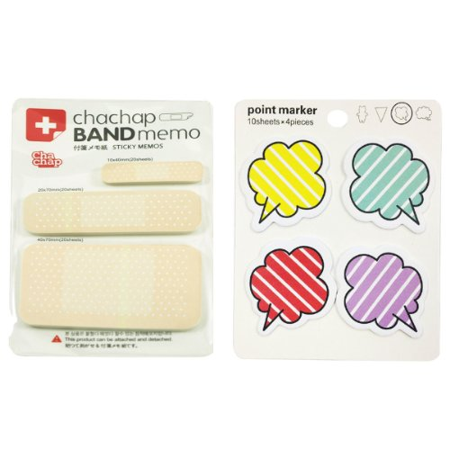 Wrapables Sticky Notes, Band Aid and Talking Bubble, Set of (Talking Bubble)