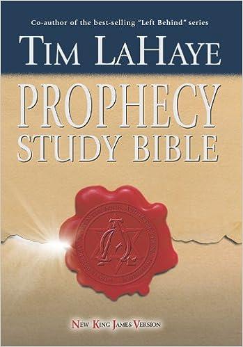 Amazon com: NKJV Tim LaHaye Prophecy Study Bible, Hardcover