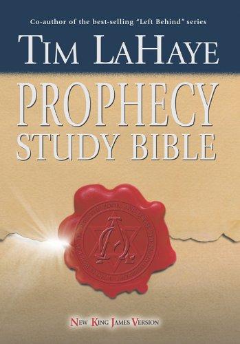 Book NKJV Tim LaHaye Prophecy Study Bible, Hardcover
