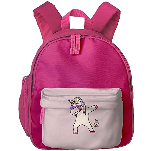 Yimo Cute Unicorn Jumping Hip-Hop Students Book Bag Children Schoolbags Backpacks For Teens Boys Girls by Yimo