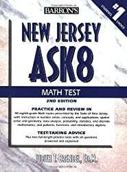 New Jersey ASK8 Math Test (Barron's New Jersey Ask8 Math Test)