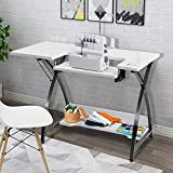 Costway Sewing Craft Table, Adjustable