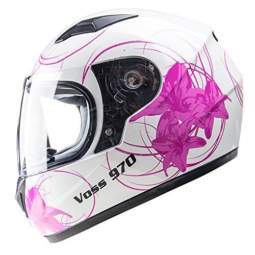 Flower Motorcycle Helmet - 9