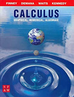 calculus graphical numerical algebraic solutions manual finney rh amazon com calculus graphical numerical algebraic third edition solutions manual calculus graphical numerical algebraic 4th edition solutions manual