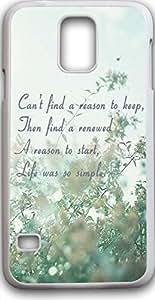 Note S5 Case,Deseason Samsung galacxy note S5 Hard Case **NEW** Case for Sumsung galaxy noteS5 (2015) Verizon life was so simple