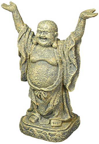 Penn-Plax Standing Buddha Aquarium Decoration 10-inch
