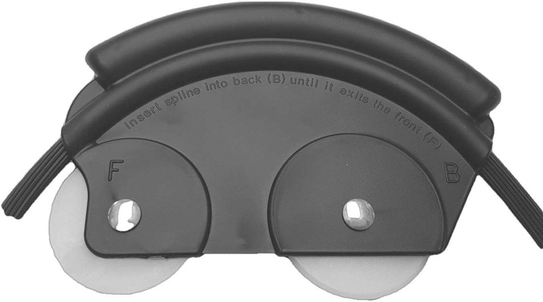Moustiquaire en caoutchouc noir /Ø 5,5 mm pour moustiquaire noir