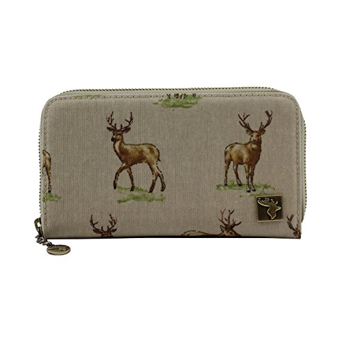 Country Country Beige Wide Purse Wide Stag SSrZqw