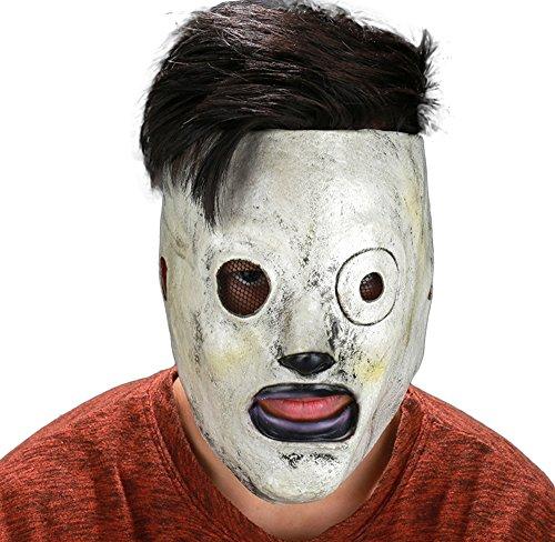 Halloween Horrible Mask Full Face Soft Latex Size Adjustable (Corey Taylor Halloween Mask)