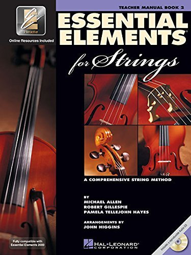 Essential Elements 2003 Book - Essential Elements for Strings - Book 2 with EEi: Teacher Manual by Gillespie, Robert, Tellejohn Hayes, Pamela, Allen, Michael (2003) Spiral-bound