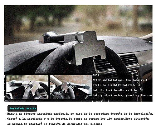 AUTLY Bloqueo del Volante Bloqueo,Alta seguridad,Auto ...
