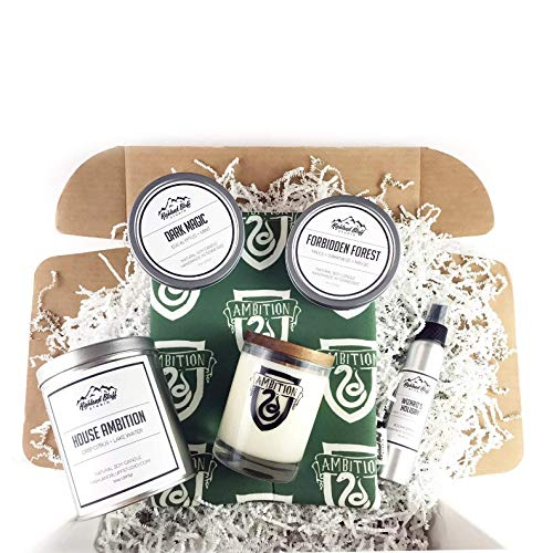 House Ambition Gift Box - Includes 3 Scented Soy Candles, an 8.5