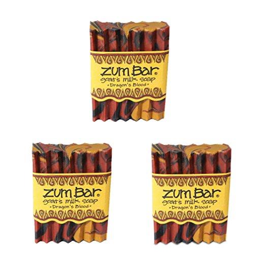 (Indigo Wild: Zum Bar Goat's Milk Soap Bar, Dragon's Blood 3 oz (3 pack))