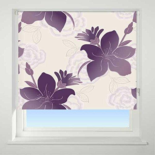 purple roller blind. Black Bedroom Furniture Sets. Home Design Ideas