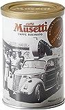 Musetti(ムセッティー) クレミッシモ コーヒーパウダー (挽き豆) 極細挽き 125g 缶