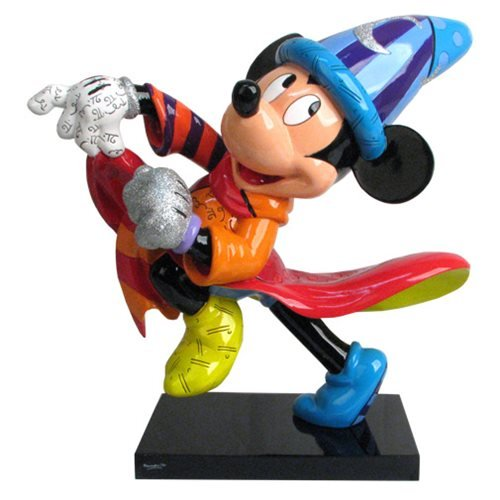 【半額】 Disney Sorcerer Mickey 14-Inch 14-Inch Statue by Sorcerer Romero Britto Mickey [並行輸入品] B01JYT1876, はちみつの恵:2e78010d --- mrplusfm.net