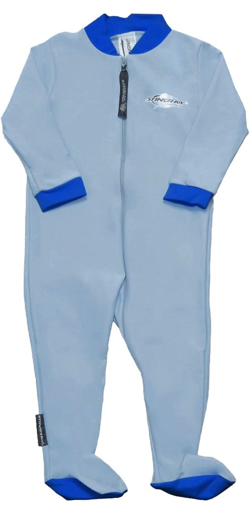 Stingray Australia Baby Sun Suit with Feet - SPF/UPF 50+ UV Sun Protection Sunsuit for Infants by Stingray Australia