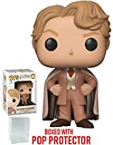 Funko Pop! Movies: Harry Potter - Gilderoy Lockhart Vinyl Figure (Bundled with Pop Box Protector Case)