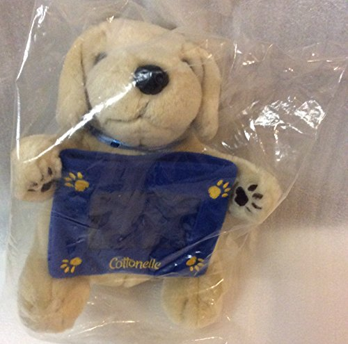 (Cottonelle Labrador Retriever Puppy Dog Plush Stuffed Animal with Photo Frame by Kimberly Clark)