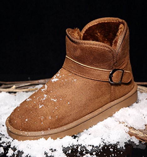 D Anguang Neige Unisex Bottes Plus Taille Court xRTvxqY