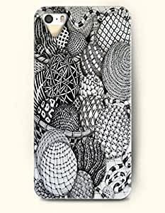 iPhone 5 5S Hard Case (iPhone 5C Excluded) **NEW** Case with Design Wool Balls Craft- ECO-Friendly Packaging -...