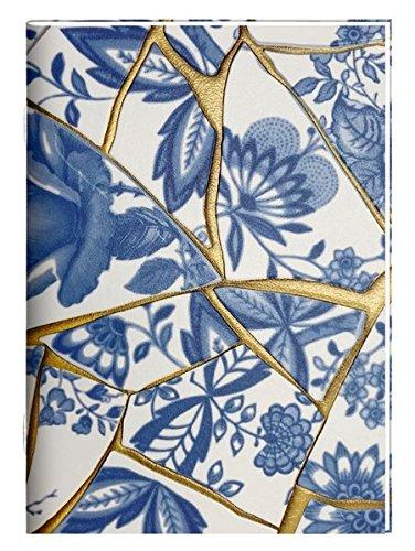 Tapetenhefte - DIN A6 (All about blue): 6 x 2 Ex. (design Sortiert)
