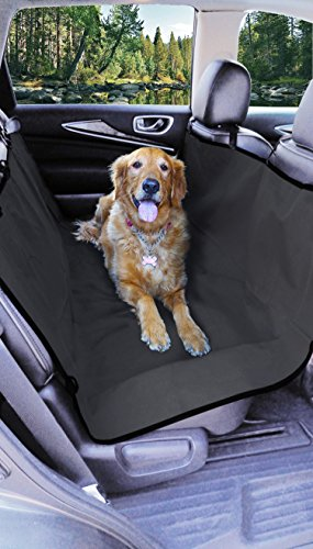 Major-Q Thick Waterproof Hammock Dog Seat Cover Protection (Grey)