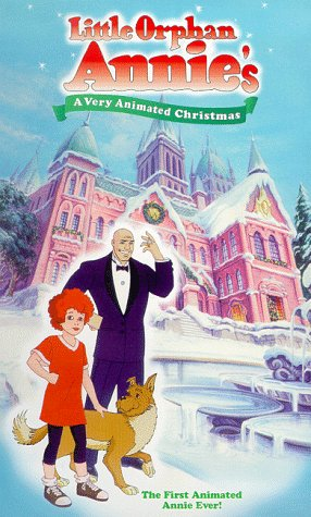 Amazon.com: Little Orphan Annie's Very Animated Christmas [VHS ...