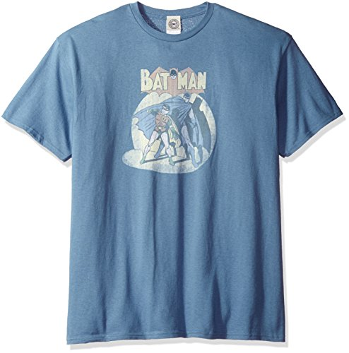 DC Comics Men's Batman Robin in the Spotlight T-Shirt