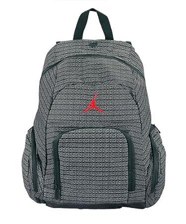 Amazon.com: Nike Jordan Jumpman 23 Black School Book-bag Laptop ...