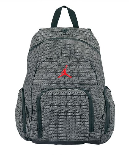 Price comparison product image Nike Jordan Jumpman 23 Black School Book-bag Laptop Sleeve Backpack