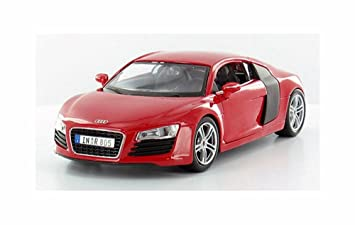 Audi R8 1:24 Scale Diecast Model Car Assorted Colours