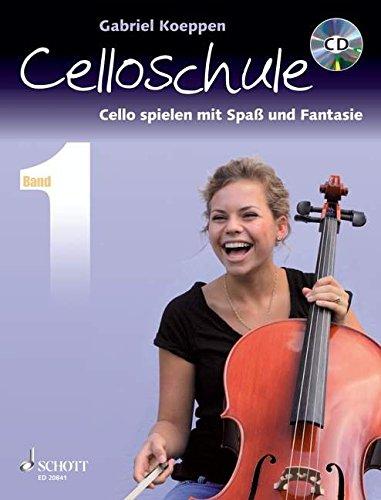 Celloschule: Cello spielen mit Spaß und Fantasie. Band 1. Violoncello. Lehrbuch mit CD.
