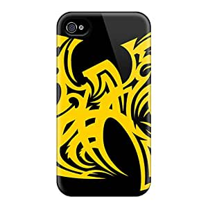 Apple Iphone 4/4s PEa11903ovkP Support Personal Customs Beautiful Wu Tang Pictures Anti-Scratch Hard Cell-phone Cases -LeoSwiech