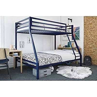 Your Zone premium twin-over-full bunk bed