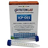 Triton Labs ICP-OES Water Test- Full Panel of 32 Elements - Saltwater Reef Testing Kit