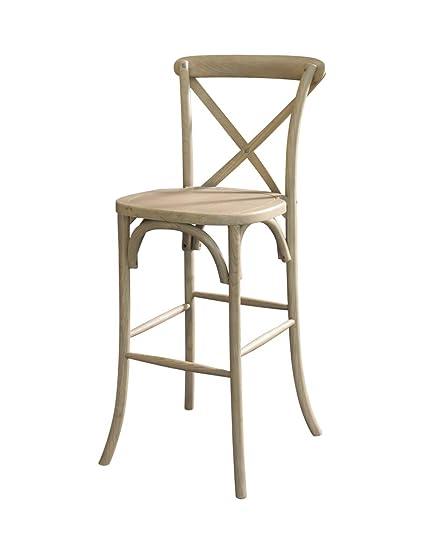 Peachy Amazon Com Pre Sales 1120 Lucca X Back Wood Bar Stool Camellatalisay Diy Chair Ideas Camellatalisaycom