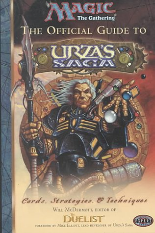 OFFICIAL GUIDE TO URZA'S SAGA (Magic : The Gathering)