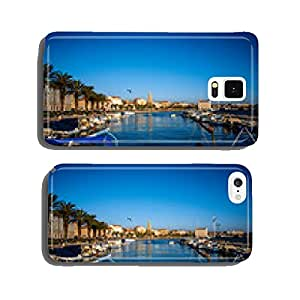Split city centre view cell phone cover case iPhone6