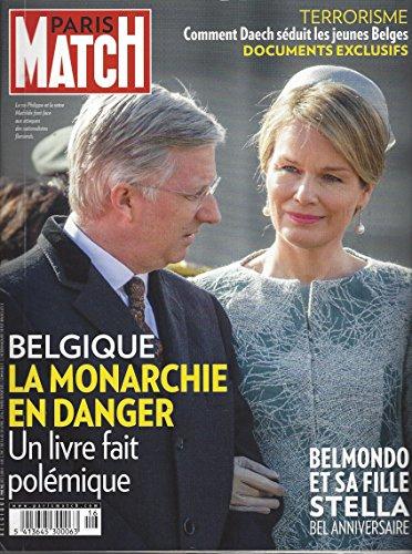- Paris Match du 14 au 20 Avril 2016 PMB 762: Belgique La Monarchie en Danger, Belmondo et sa Fille Stella et d'autres articles