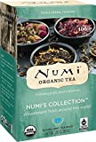Numi Organic Tea Variety Pack - Numi's Collection, Assorted Full Leaf Tea and Teasan, 16 Count Tea Bags