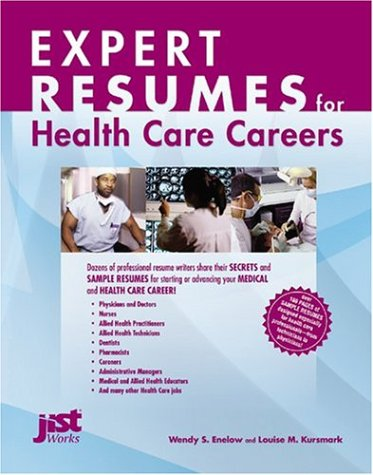 Expert Resumes for Health Care Careers ebook