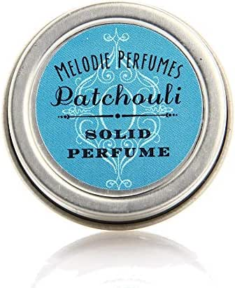 Melodie Perfumes Patchouli Solid Perfume. Vegan Patchouli essential oil natural fragrance for women.50 oz