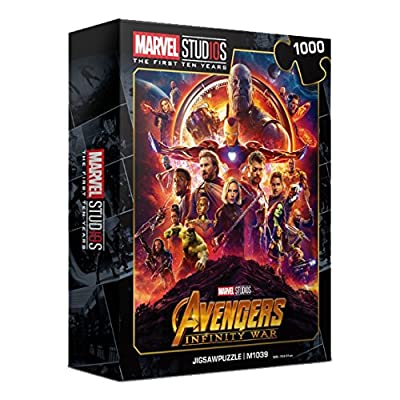 1000Piece Jigsaw Puzzle Marvel Avengers Infinity War 10th Edition II: Toys & Games